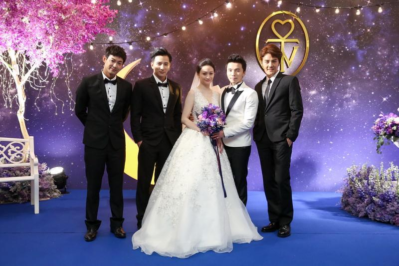 A-Wei marries girlfriend of four years