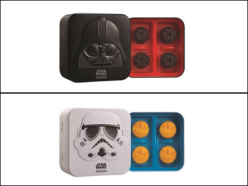 Star Wars mooncake collection by Mei-Xin Mooncakes