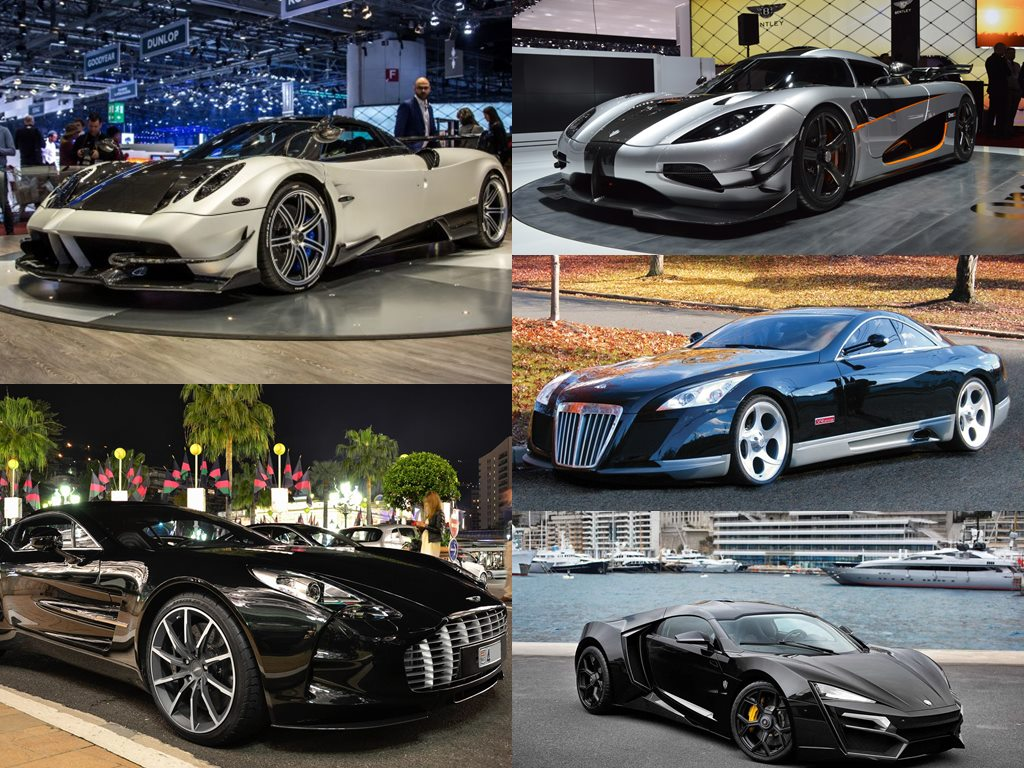 10 most expensive hypercars in the world!
