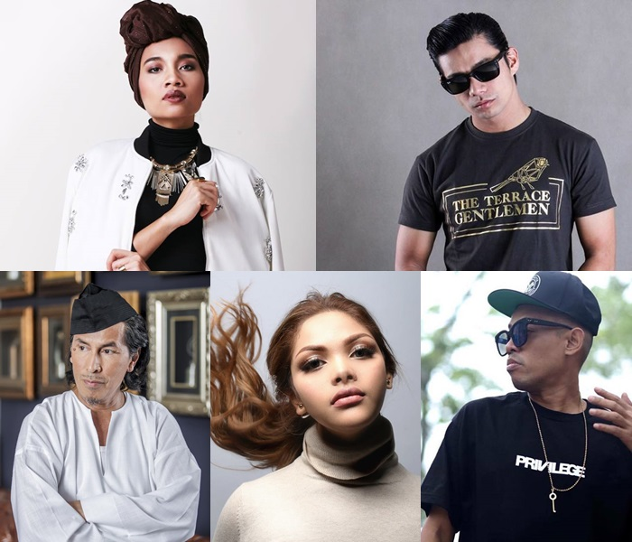 5 Malaysian singers come together for Cinta Concert