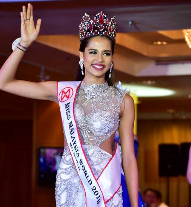 18-year-old wins Miss Malaysia World 2016