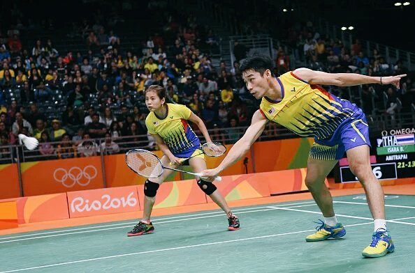 Malaysian mixed doubles go for the gold in Rio 2016