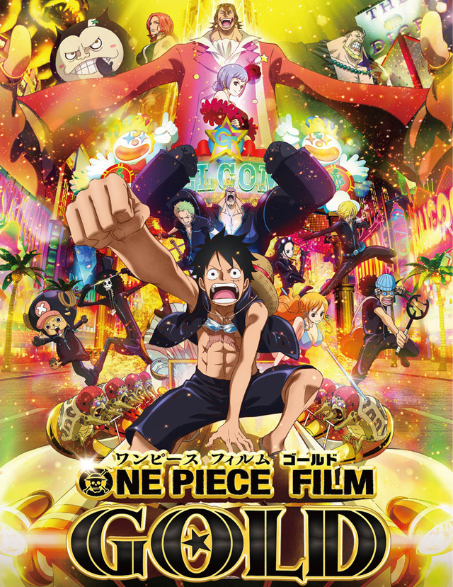 One Piece Film Gold Road Show Promo