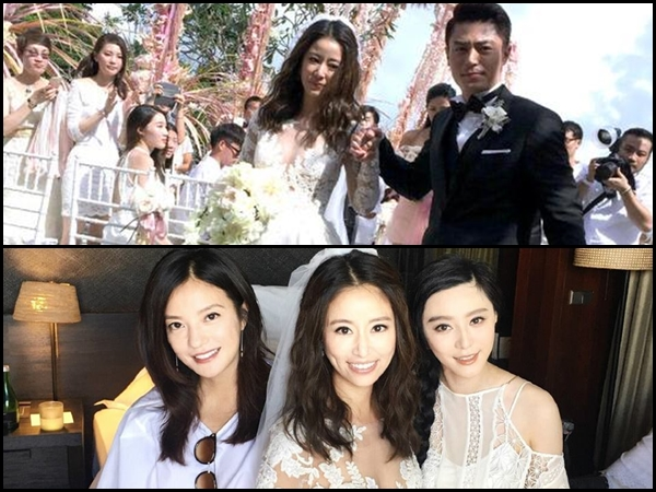 Ruby Lin and Wallace Huo are now married