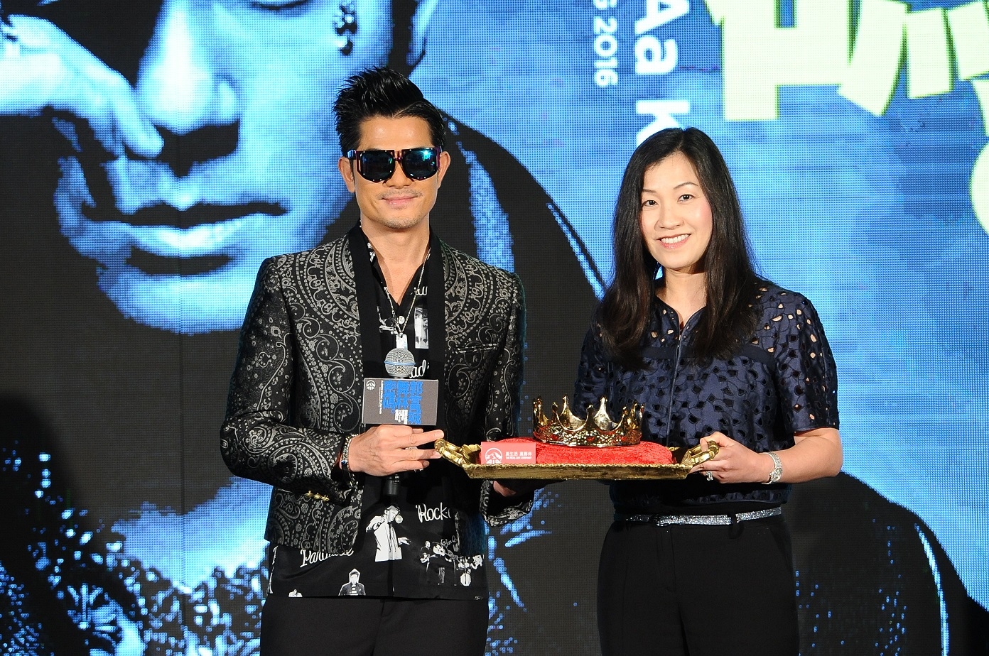 Aaron Kwok's interactive stage to achieve world record?