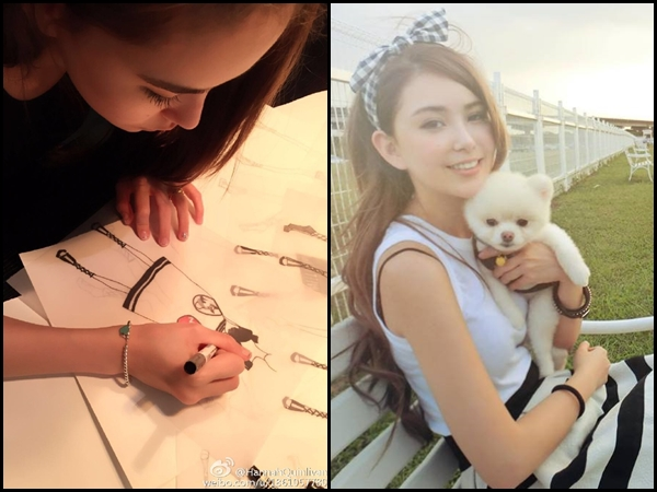 Hannah Quinlivan shares design sketches for WOOF!