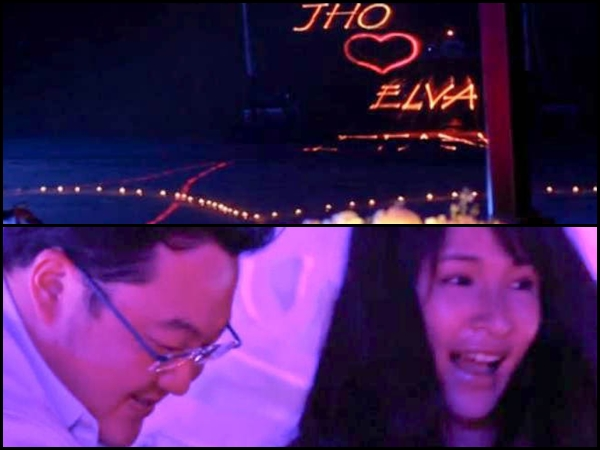 Jho Low's previous lavish dinner with Elva Hsiao unearthed