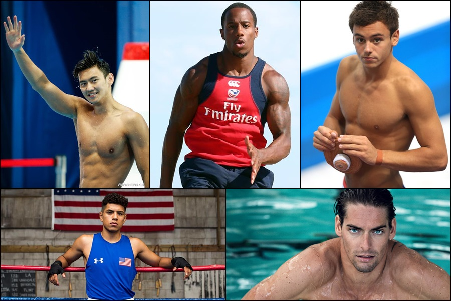 15 hottest male athletes at Rio Olympics 2016!