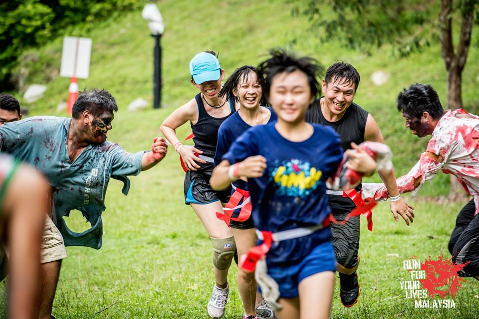 Survive the zombie apocalypse at the Run for Your Lives race