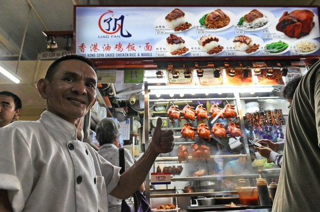 Singapore's Michelin-starred hawker to sell recipe at high price