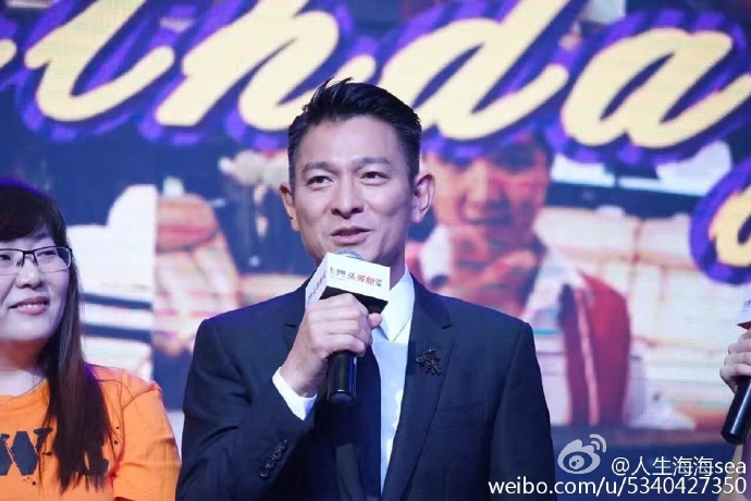 Andy Lau plans for concert tour and album next year