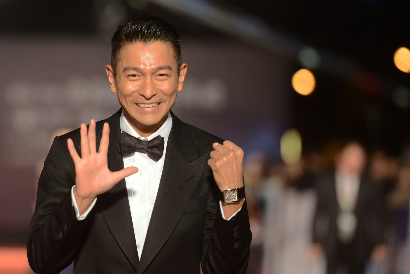 Andy Lau's wife has given birth?