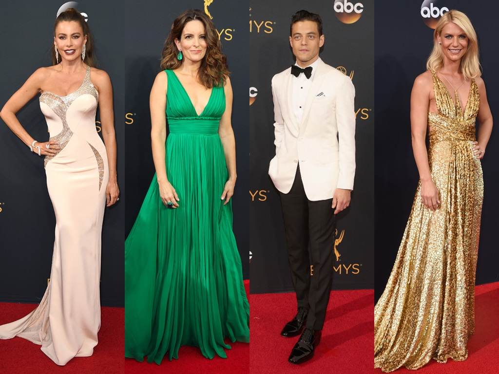 Glitz and glamour at Emmys 2016
