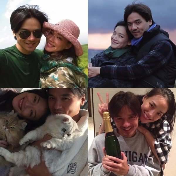 Stephen Fung, Shu Qi's private photos revealed