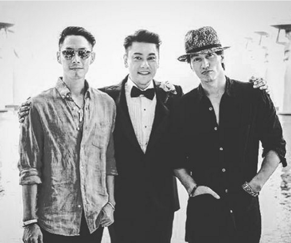 Jerry Yan and Vanness Wu attended Ken Zhu's wedding
