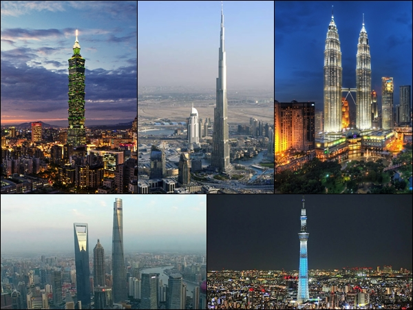 Best skyscrapers to visit in Asia