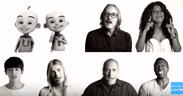 """UNICEF's """"Imagine"""" video features Upin & Ipin"""