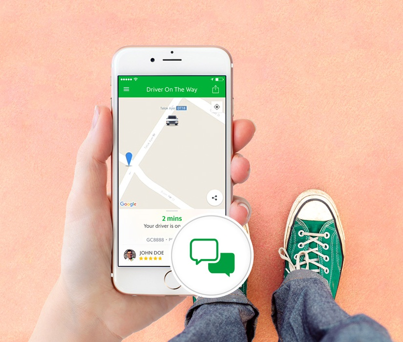 Grab introduces new instant messaging feature