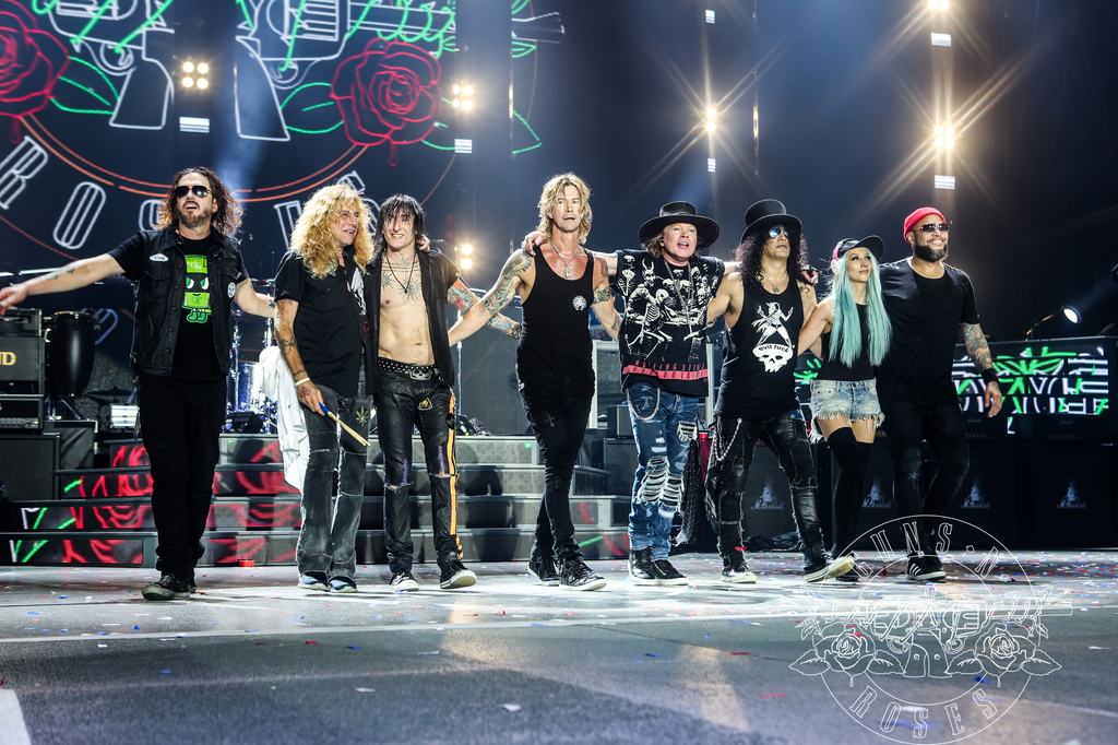 Guns N' Roses to debut first show in Singapore