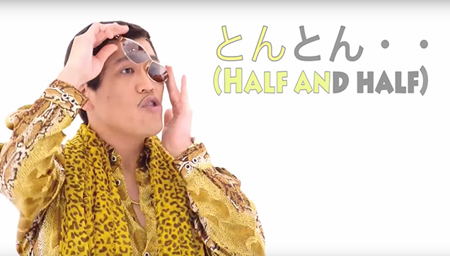 The Pen-Pineapple-Apple Pen guy is back with another weird song