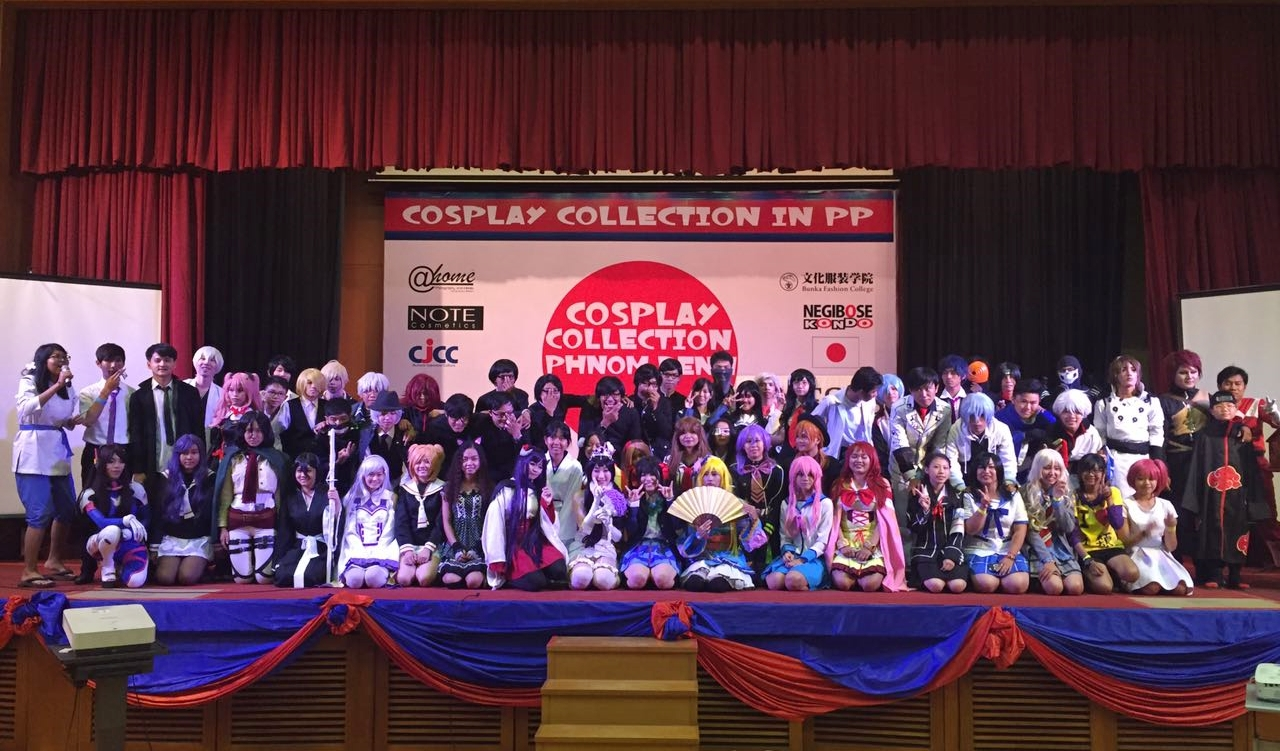 """[Photos] Cosplayers gather for """"Cosplay Collection"""" in Phnom Penh"""