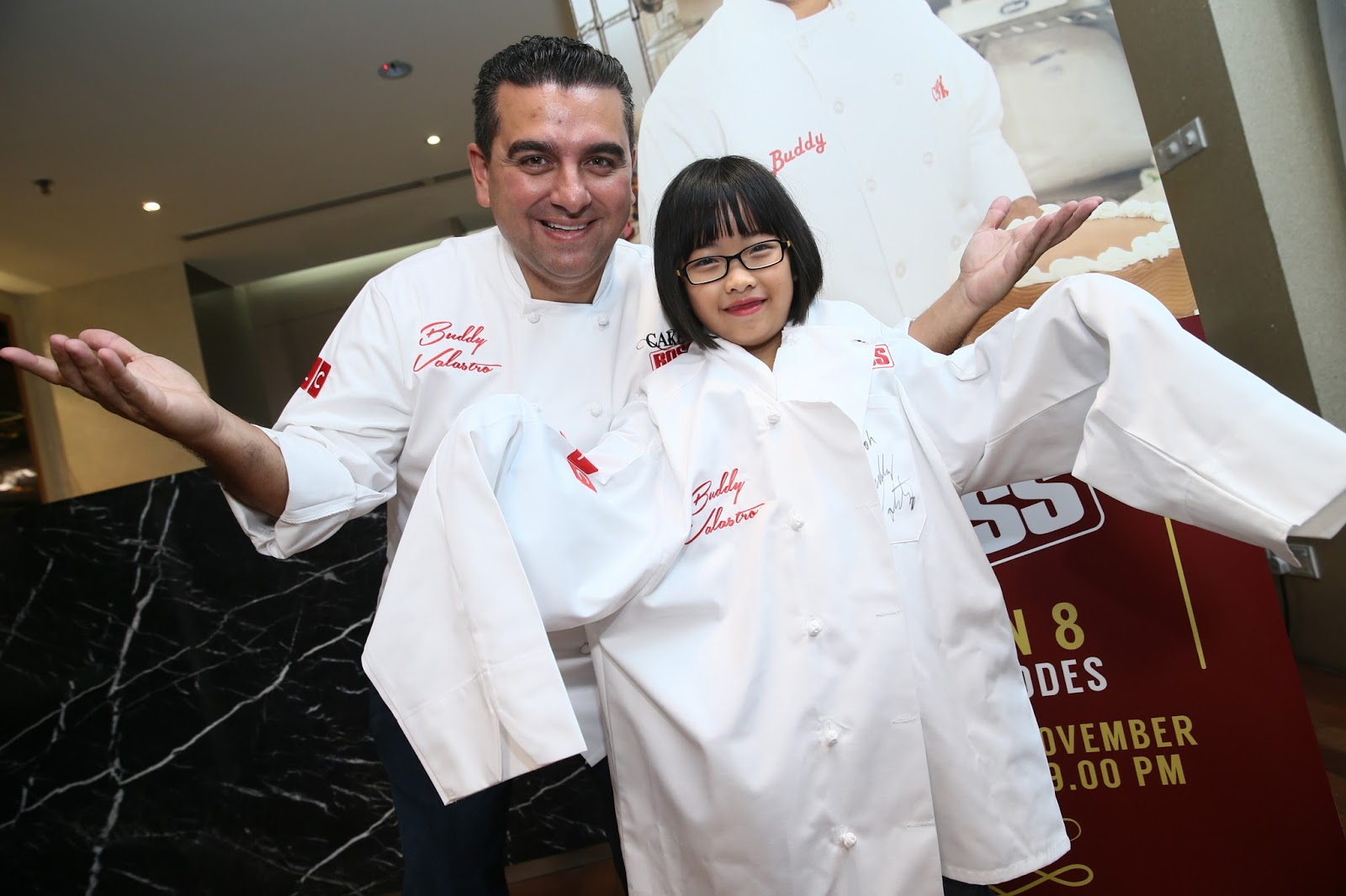 """Little Malaysian chef is offered to star in """"Cake Boss"""""""
