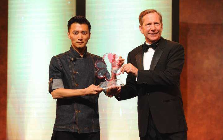 Nicholas Tse is the first ever Friend of Michelin