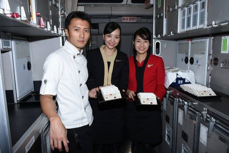 Nicholas Tse's cookies to be served on Cathay Dragon flights