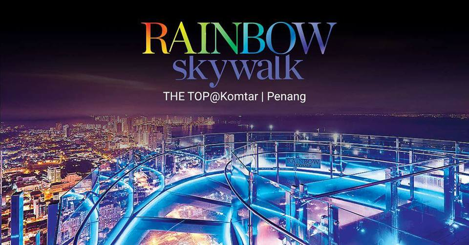 Malaysia's highest skywalk is now officially opened