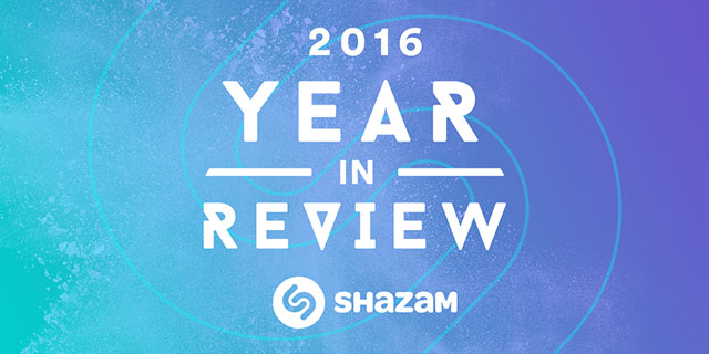 Most Shazamed tracks of 2016 revealed