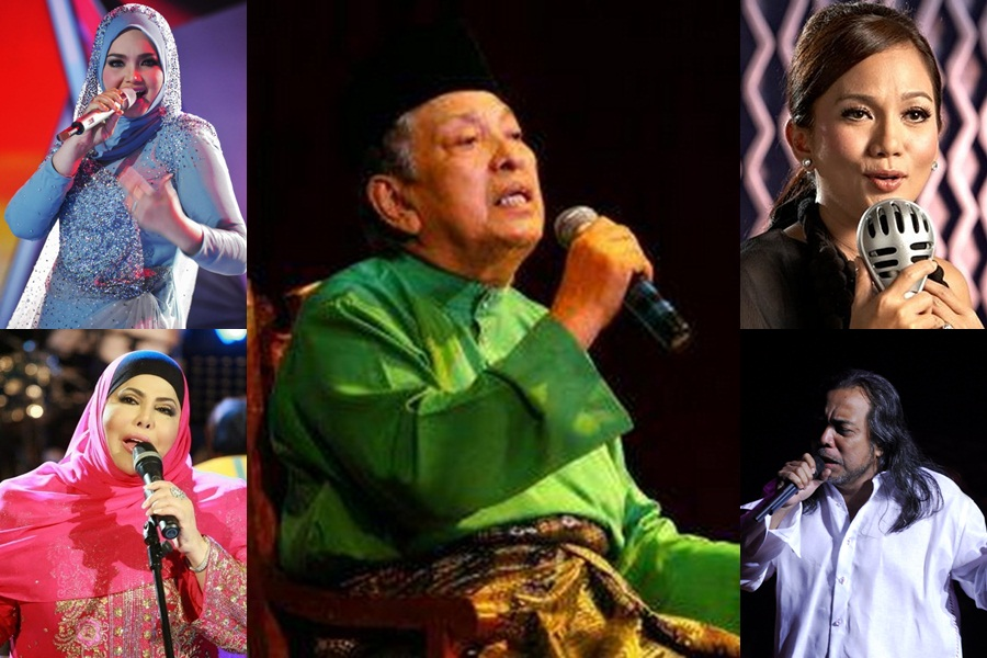 Famous people who collaborated with the late SM Salim