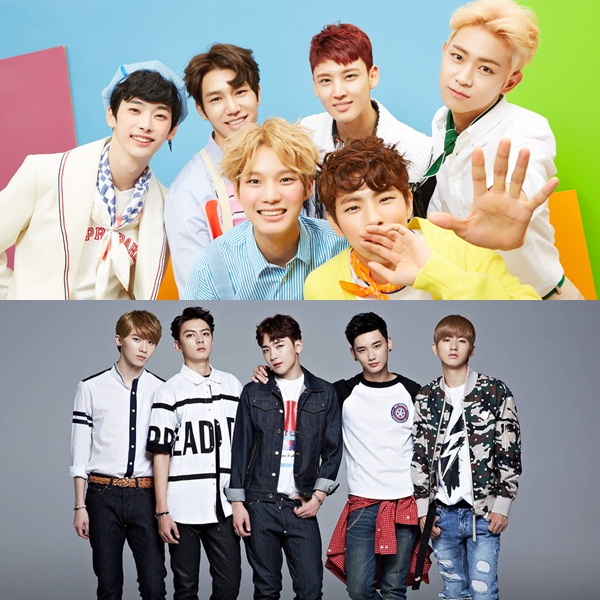 Two K-Pop bands performing for New Year's Eve in Malaysia