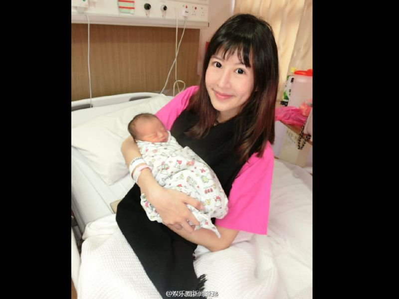 Uny Chiu gives birth to daughter in Malaysia