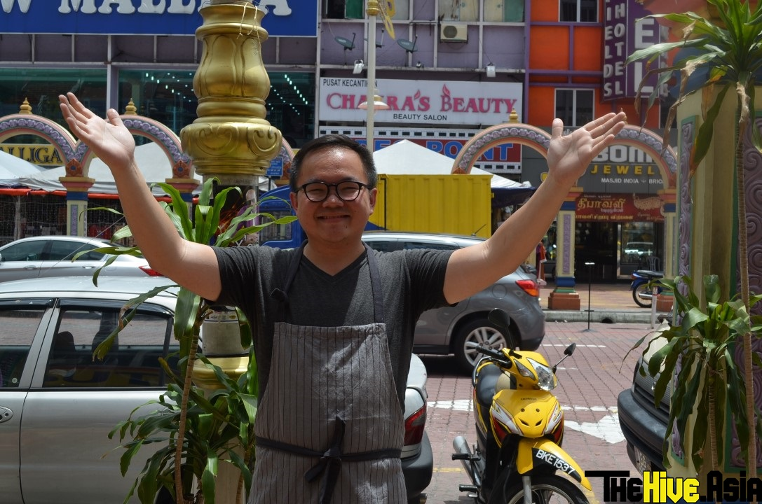 """JJ from MeatMen cooks in the streets for """"Wok With Us"""""""