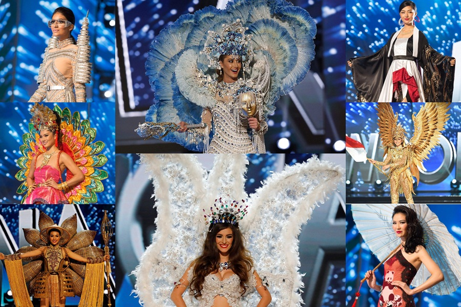 [Photos] All the bizarre national costumes at Miss Universe 2016