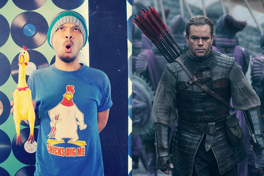 """Namewee trolls with """"The Great Wall"""" theme song"""