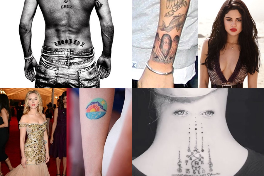 These celebrity tattoos are so weird!