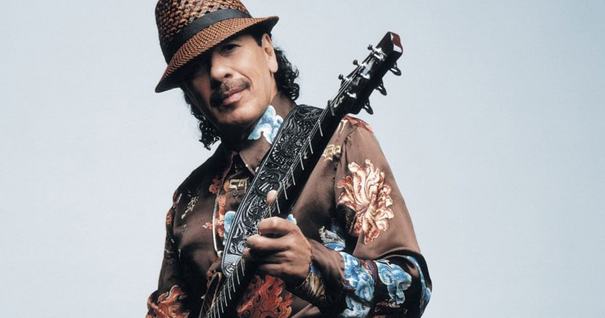 Sway to Santana's music this April in Singapore