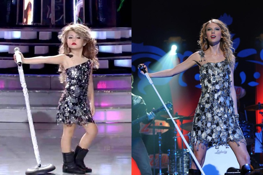 Mini-Taylor Swift blows the internet away with uncanny performance