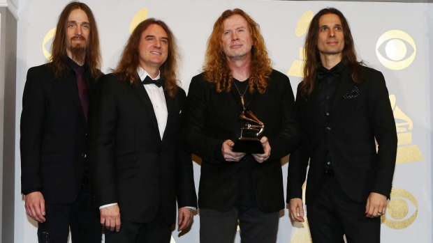 Megadeth wins their first Grammy in the most awkward moment of all