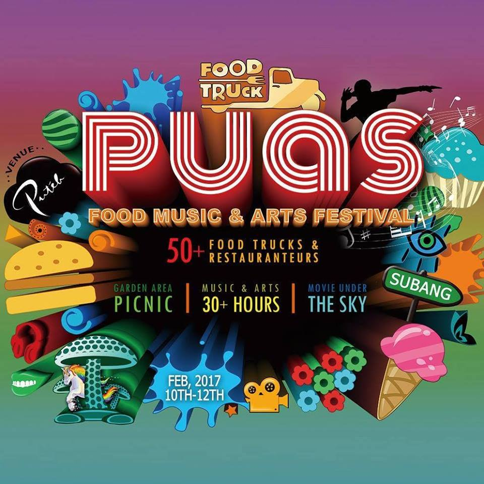 Foodies, Music & Arts lovers, look out for PUAS 2017