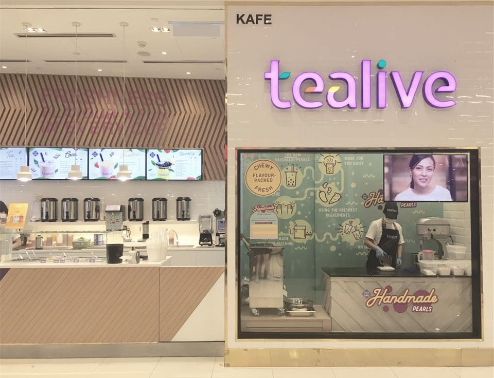 Chatime is now rebranded as Tealive