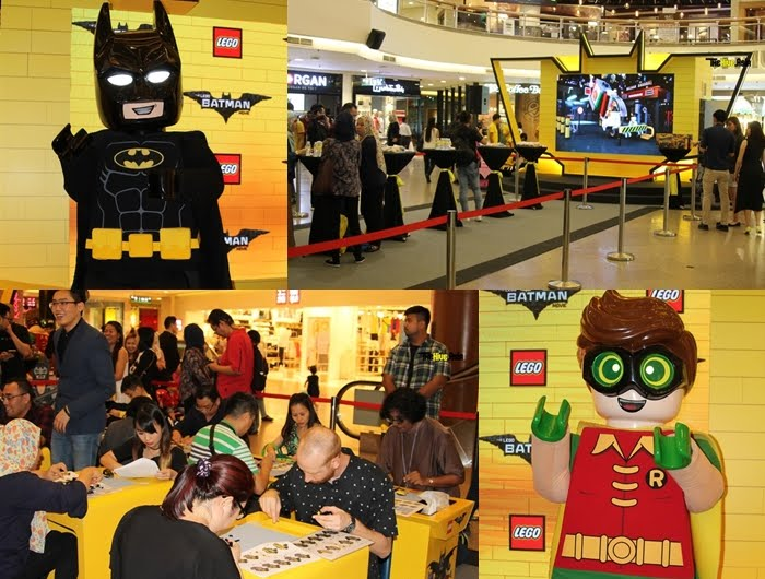 It's all about Lego Batman at Mid Valley