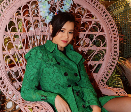 Myolie Wu dismisses reports about first pregnancy