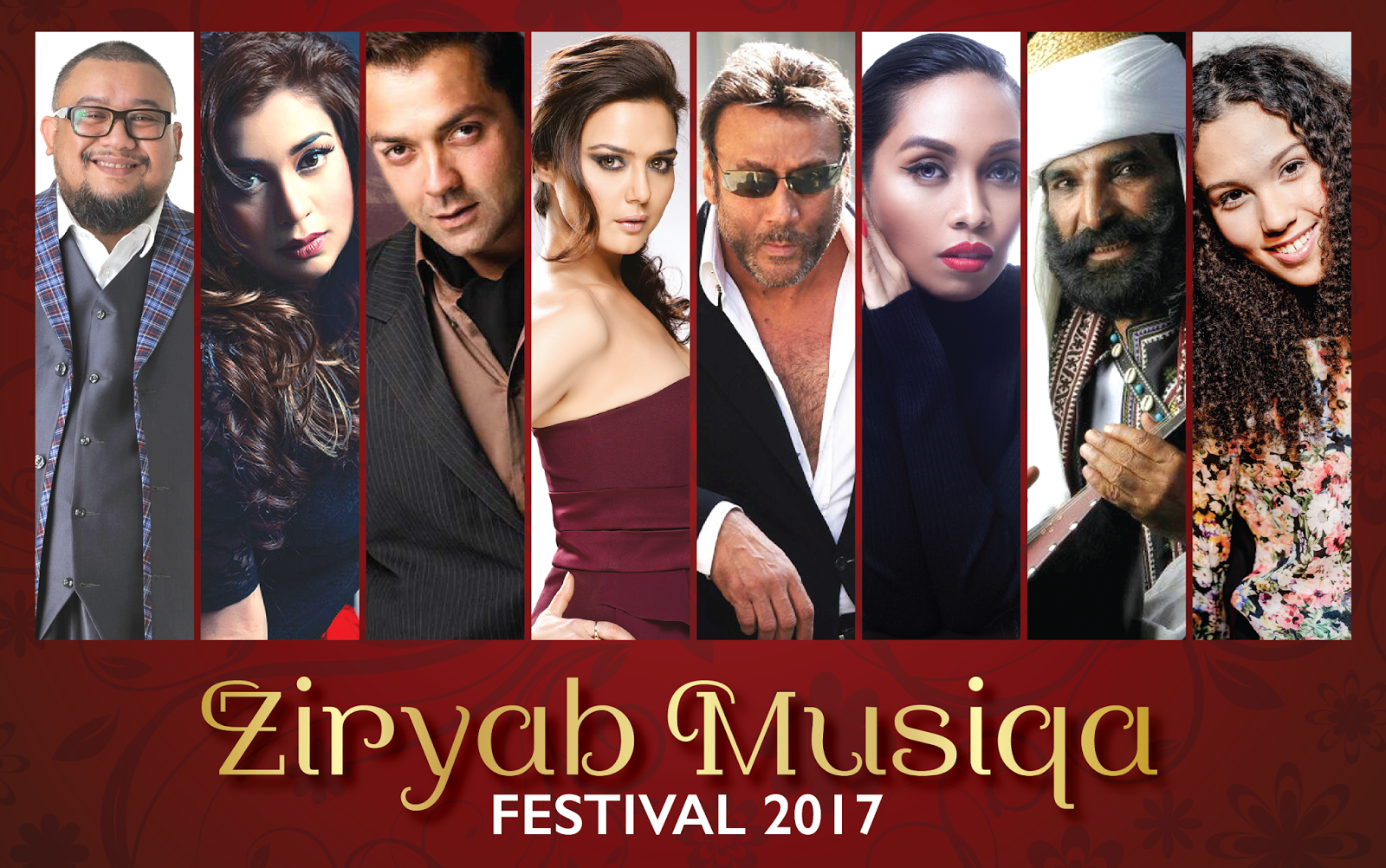 Ziryab Musiqa features Malaysian and Bollywood superstars