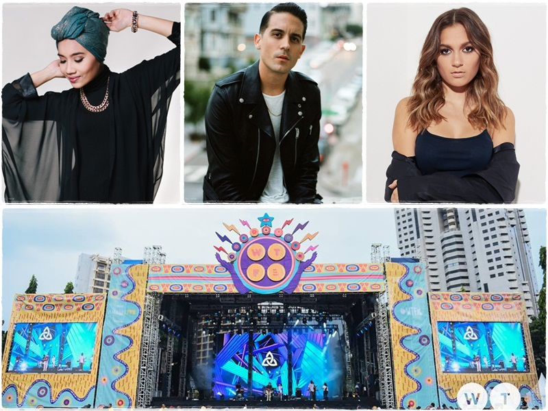 Daya, G-Eazy and Yuna to perform at We The Fest 2017
