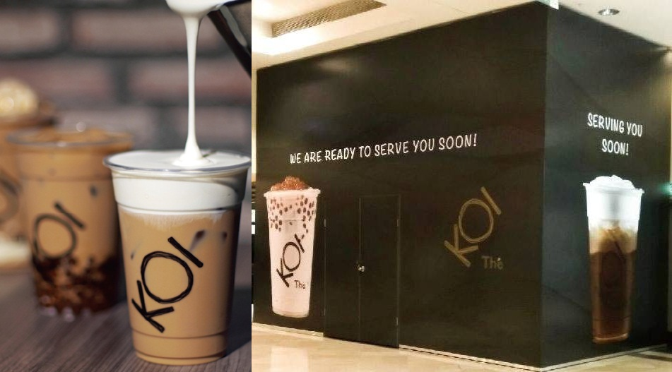 KOI, another famous Taiwanese bubble tea is coming to Malaysia