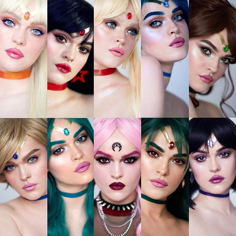 """This girl transforms herself into every Sailor Scout in """"Sailor Moon"""""""