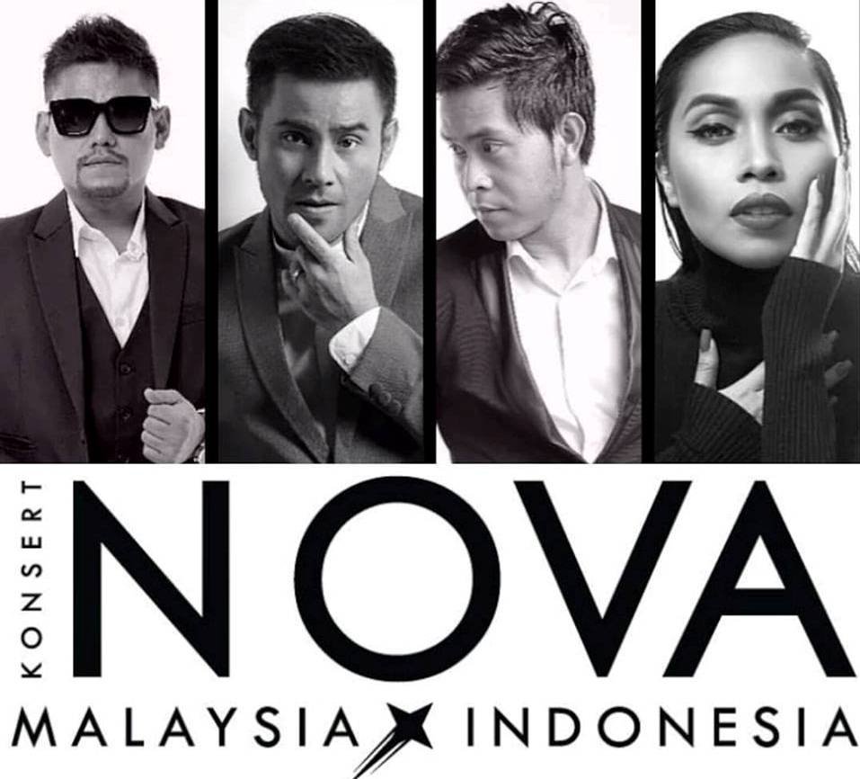 Konsert Nova presents the best stars from Malaysia and Indonesia