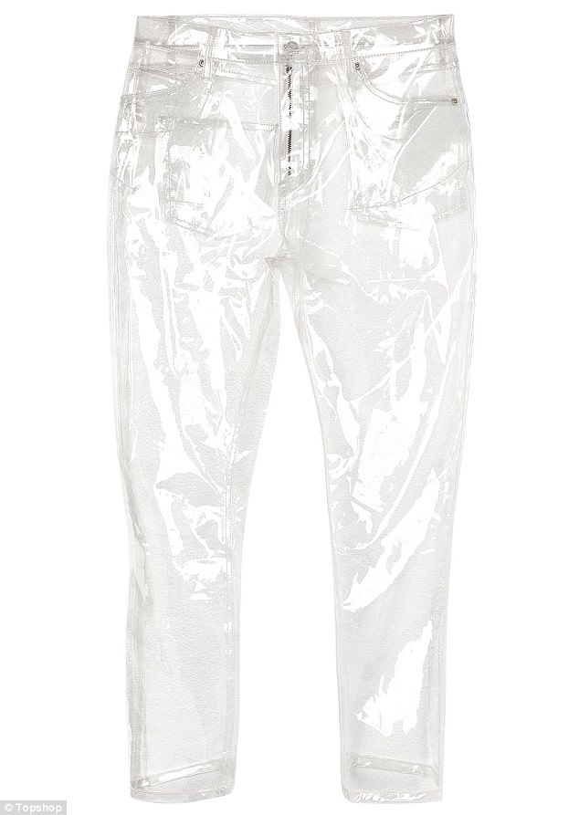 3F98574B00000578 4444680 Sweat city Topshop is selling these clear plastic jeans m 2 1493144878756